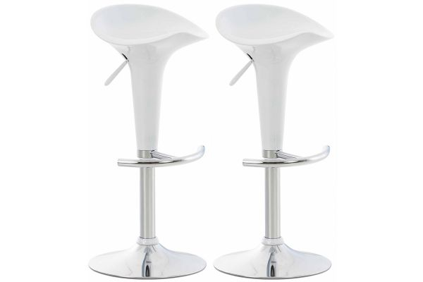 Set de 2 Taburetes Saddle Modernos