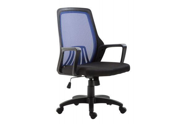 Bürostuhl Clever schwarz/blau