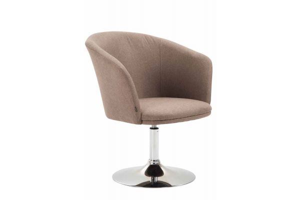 Lounger Arcade Stoff taupe