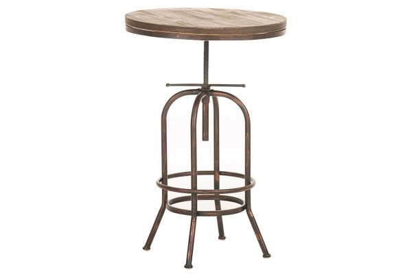Bartisch Brighton, Holz bronze
