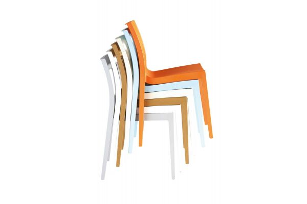 Silla apilable LUCCA